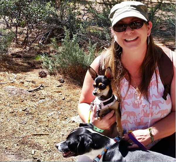 Cute4Kind | A Tiny Tripod With A BIG Heart the rescue puppy story Hannah Maddie and Mom A Rescue Family Adventure
